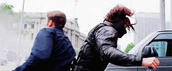 Gif Captain America Chris Evans Steve Rogers Bucky Barnes Sebastian Stan The Winter Soldier Catws