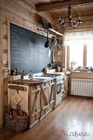What An Interesting Rustic Kitchen