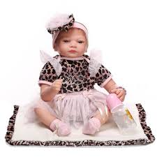 Reborn Baby Dolls Silicone Full Body Girl