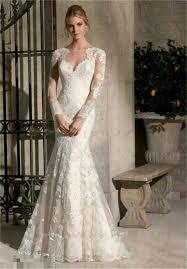 aliexpress com buy lace sleeved mermaid wedding dresses tulle