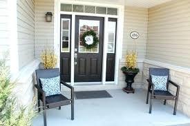 Front Door Entry Decor Ideas Porch For Spring Creative Life Exterior