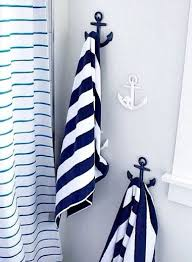Pottery Barn Sea Glass Bathroom Accessories by Blue And White Anchor Hooks From Pottery Barn Kids Http Www