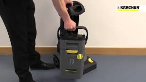 karcher br 30 4 c commercial small area floor cleaner scrubber