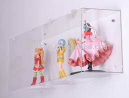 Wall Mounted High Transparent Acrylic Display Box