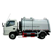 China Gas Side Loading Garbage Truck - China Gas Vehicle, Refuse ...