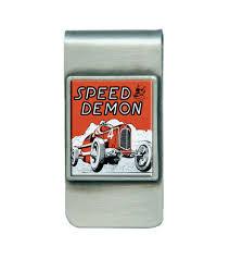 100 Speed Demon Trucks Retro Vintage Jewelry And Accessories Vintageware Money Clip