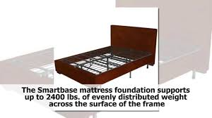 Smartbase Bed Frame by Com Zinus Inch Smartbase Mattress Gallery With Sleep Master