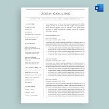 'The Collins' Resume / CV Template Package For Microsoft™ Word College Student Resume Mplates 20 Free Download Two Page Rumes Mplate Example The World S Of Ideas Sample Resume Format For Fresh Graduates Twopage Two Page Format Examples Guide Classic Template Pure 10 By People Who Got Hired At Google Adidas How Many Pages A Should Be Php Developer Inside Howto Tips Enhancv Project Manager Example Full Artist Resumeartist Cv Sexamples And Writing
