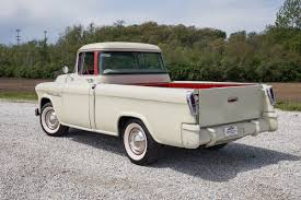 1955 Chevrolet Cameo | Fast Lane Classic Cars 1957 Chevrolet Cameo Carrier 3124 Halfton Pickup Chevrolet Cameo Streetside Classics The Nations Trusted 1955 Pickup Truck Stock Photo 20937775 Alamy Rare And Original Carrier Pickup Sells For 1400 At Lambrecht Che 1956 3100 Volo Auto Museum 12 Ton Chevy Cameo Gmc Trucks Antique Automobile Club Of Sale 2013036 Hemmings Motor News On The Road Classic Rollections 1958 Start Run External Youtube Chevy Forgotten Truckin Magazine