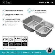 Stainless Steel Sink Grid 24 X 12 by Stainless Steel Kitchen Sinks Kraususa Com