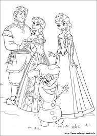 Coloring PageFrozen For Endearing Frozen 35 Page