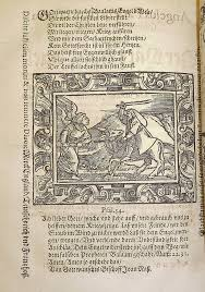 Woodcut Illustration Of The Biblical Story Balaam And Ass Numbers 2221