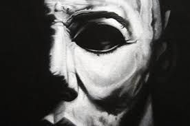 Michael Myers Actor Halloween by Shapes On A Canvas Convincing A Portrait Painter To Take On
