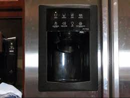 fix your ge refrigerator door and water dispenser