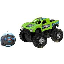100 Remote Controlled Truck Green Black Colour Plastic Racing Car