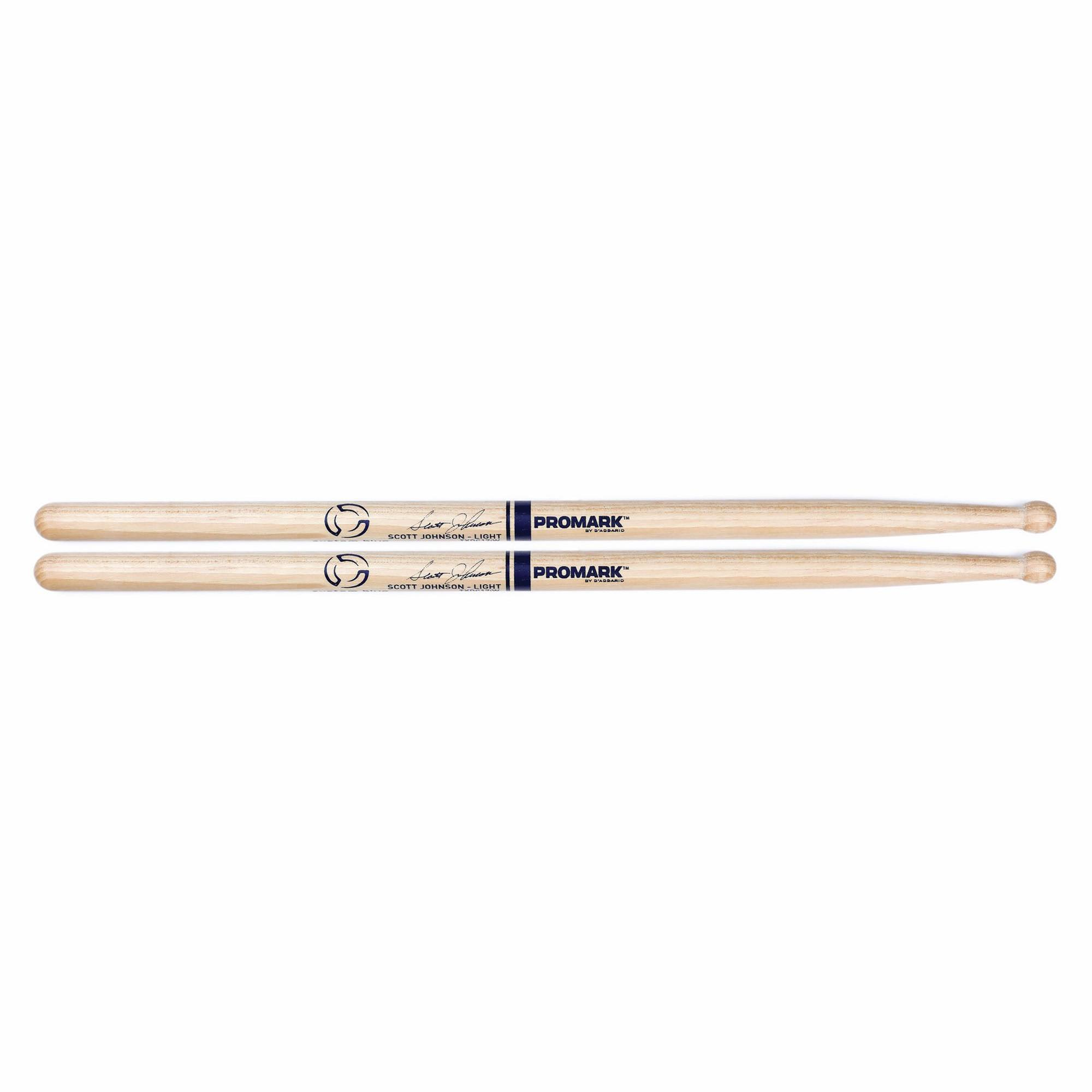 Pro Mark Txdc17iw American Hickory Scott Johnson Marching Drumstick - Blue