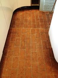 Regrout Old Tile Floor by Grouting And Cleaning Brick Floor Tiles Tile Cleaners Tile