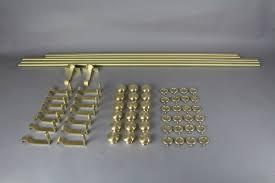 installing brass curtain rod the homy design