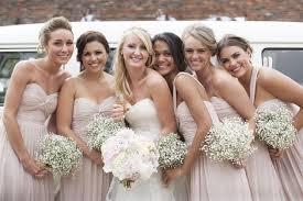 Rustic Wedding Flower Trend Babys Breath Serena Rose Flowers