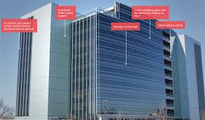 Kawneer Curtain Wall Doors by Glass And Metals 101 Glass Magazine