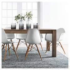 braxton 72 dining table rustic brown target