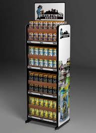 S Wine Custom Floor Display Beer Water Rack Blue Moon Lexjet Blog