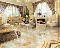 r lisation cuisine moderne 3d étage cuisine personnalisé rétro 3d sol en marbre motif