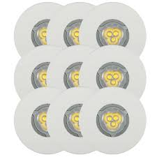 3er set light topps lt1255130 led einbaustrahler