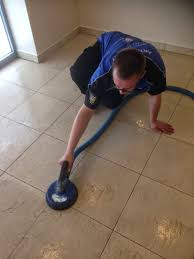 cleaning a commercial ceramic tile floor in cambridge