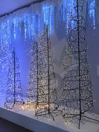 Spiral Lighted Christmas Trees Outdoor by Christmas Ft Lighted Christmas Tree Pencil Spiral Home Accents