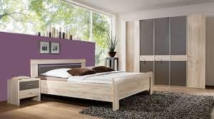 wiemann schlafzimmer donna mit kleiderschrank sägeraue eiche havannafarbene kunststoffoberflächen vierteilig liegefläc