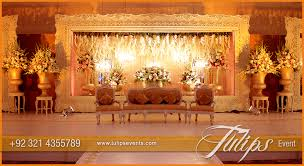 Pakistani Wedding Stage Design