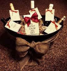Gift Basket Ideas For Wedding Shower Bridal Baking A Simple Outdoor Reception