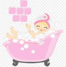 clipart bäder die badezimmer illustration baden rosa