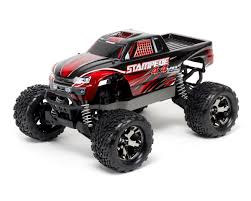 100 Radio Control Monster Truck Traxxas Stampede 4X4 VXL Brushless 110 4WD RTR Red