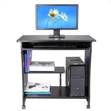 table de bureau 80cm bureau informatique table d ordinateur pr clavier tablette