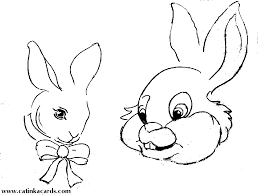 Animal Coloring Rabbit Pages Bunny 3203 4626 1