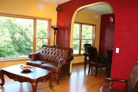 stylist design ideas 17 yellow black and red living room home