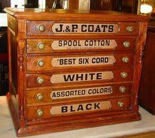 i ve always wanted an antique spool cabinet i love anything