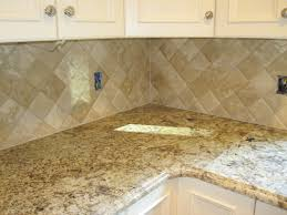 kitchen backsplash tumbled travertine tile travertine