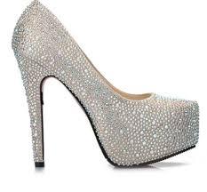 9 Colors Sparkly Glitter Diamonds Super Platform High Heels Prom