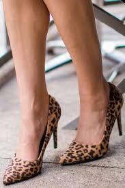 leopard print pumps faux suede heels point toe pumps 26 00