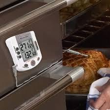 tfa dostmann küchen chef duo therm digitales grill braten ofenthermometer kerntemperaturkontrolle fleischthermometer temperaturfühler timer