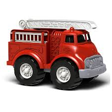 Green Toys Red Fire Truck For 1+ Years 10 1/2