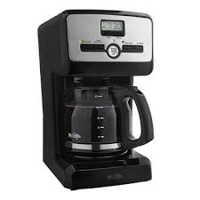 Mr CoffeeR 12 Cup Programmable Coffee Maker Black BVMC PJX23
