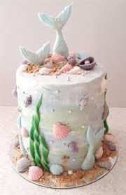 meerjungfrau mit torte und cakepops