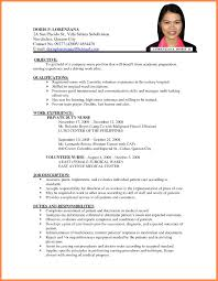 Best Resume Format For Internal Job Application Banking Interview With What Is The Resumes Formats