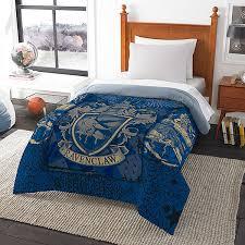 harry potter house comforters thinkgeek