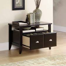 file cabinet 2 drawer lateral light wood furniture rails home