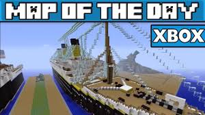 Where Did The Lusitania Sunk Map by Titanic Replica Minecraft Xbox 360 Map W Download Youtube
